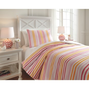 Genista - Multi - Twin Duvet Set