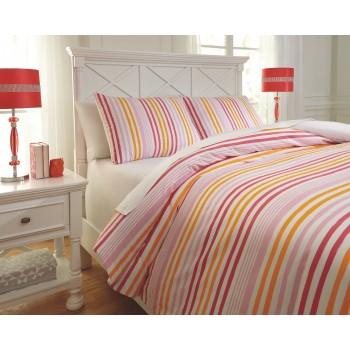 Genista - Multi - Full Duvet Set