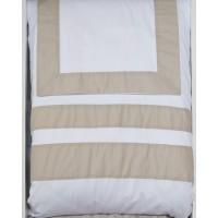 Andor - White Sand - Queen Duvet Set