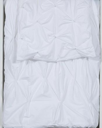 Rimy - White - King Comforter Set