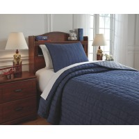Capella - Denim - Twin Comforter Set