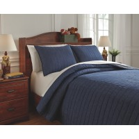 Capella - Denim - Full Comforter Set