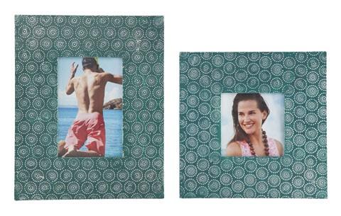 Bansi - Teal - Photo Frame (Set of 2)
