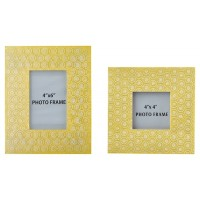 Bansi - Yellow - Photo Frame (Set of 2)
