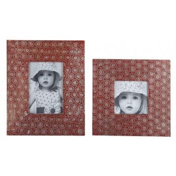 Bansi - Orange - Photo Frame (Set of 2)