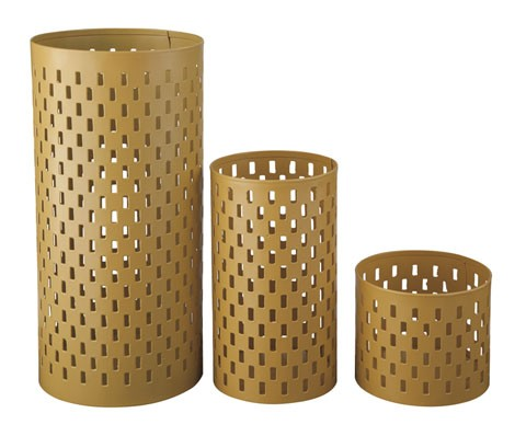 Caelan - Yellow - Candle Holder (Set of 3)