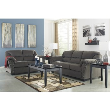Kinlock - Charcoal - Sofa & Loveseat