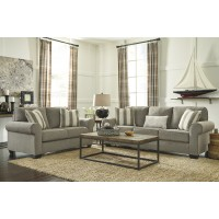 Baveria - Fog - Sofa & Loveseat
