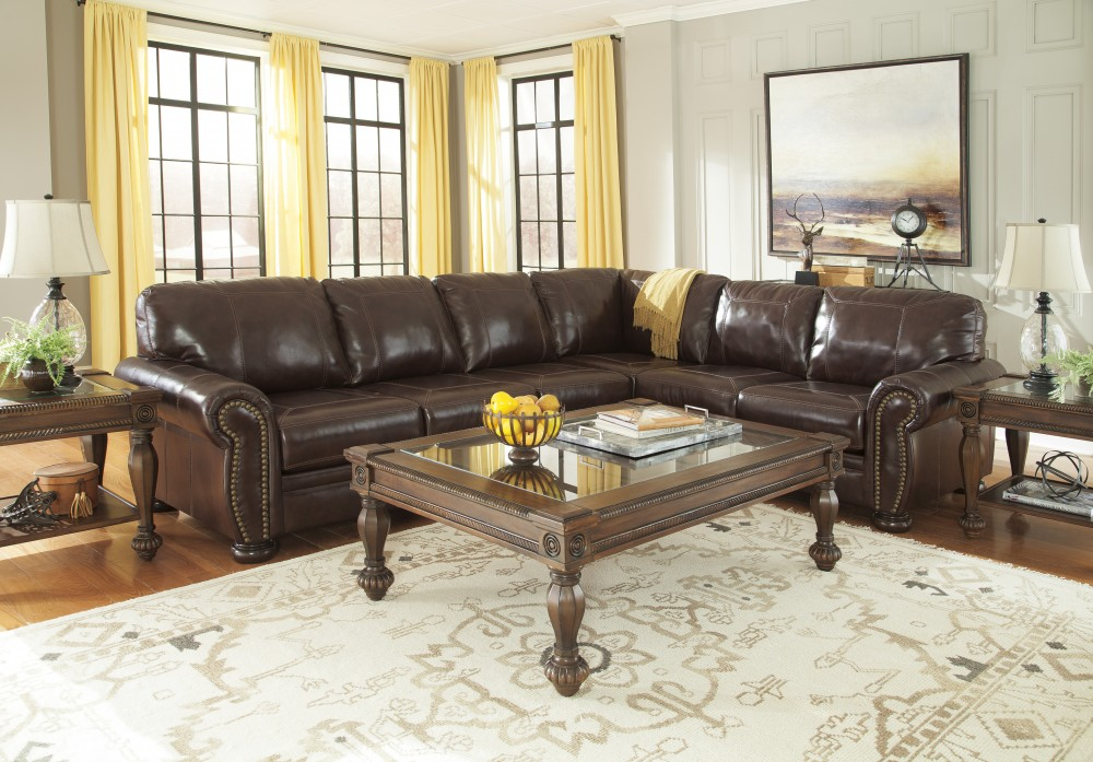 Banner   Coffee 3 Pc RAF Sofa Sectional