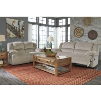 Toletta - Granite - Reclining Sofa & Loveseat