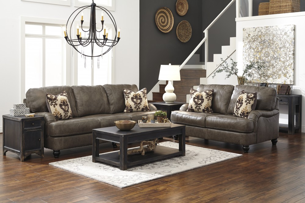 Kannerdy - Quarry - Sofa & Loveseat
