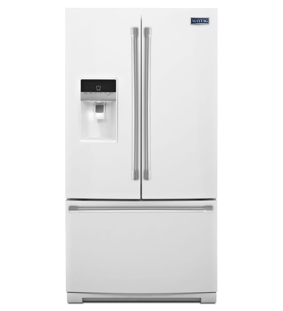 MAYTAG 25 cu. ft. Ice2O(R) French Door Refrigerator with Better Built Compressor