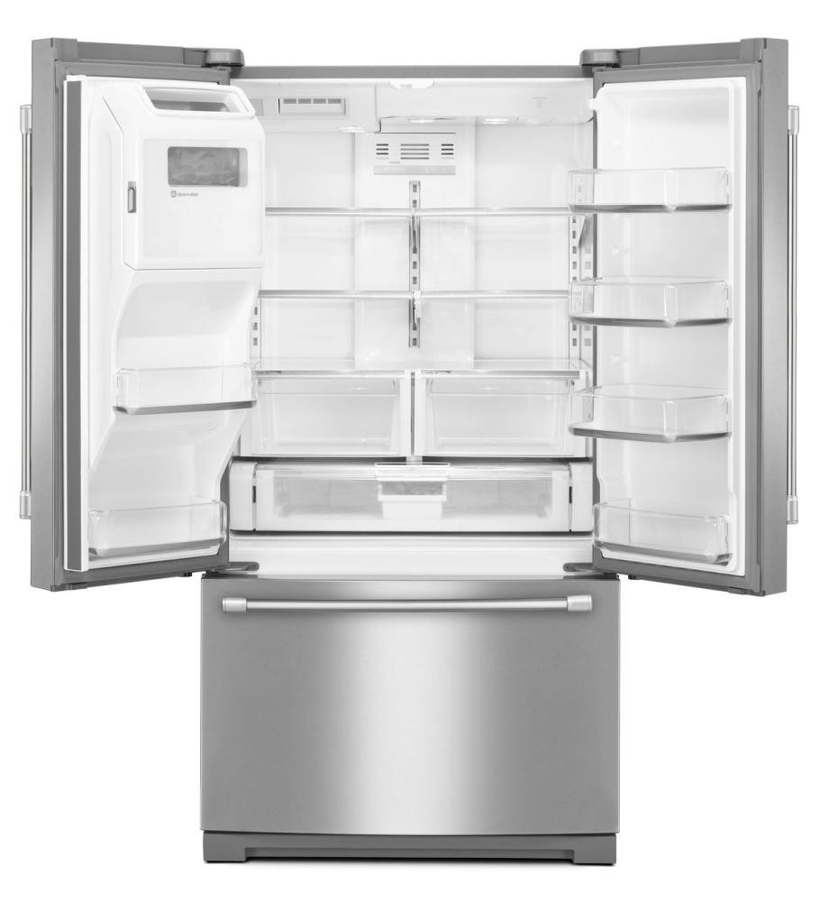 27 Cu Ft French Door Refrigerator: MAYTAG 27 Cu. Ft. French Door Refrigerator With PowerCold Feature