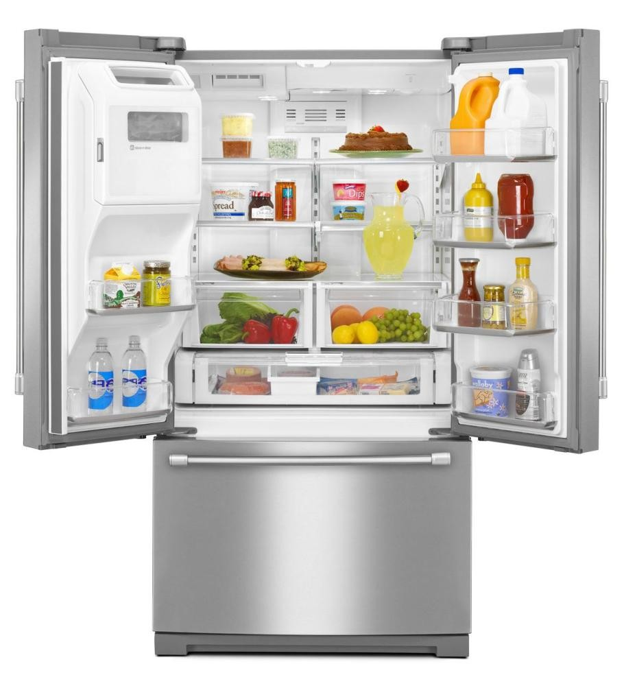Maytag 27 Cu Ft French Door Refrigerator With Powercold