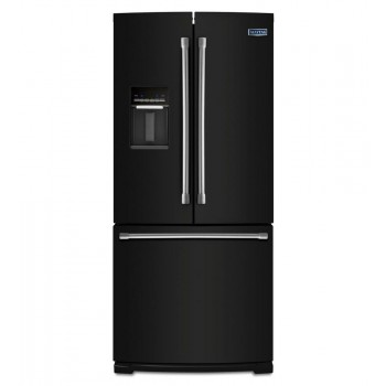 MAYTAG 19.7 cu ft French Door Refrigerator with Strongbox Door Bins