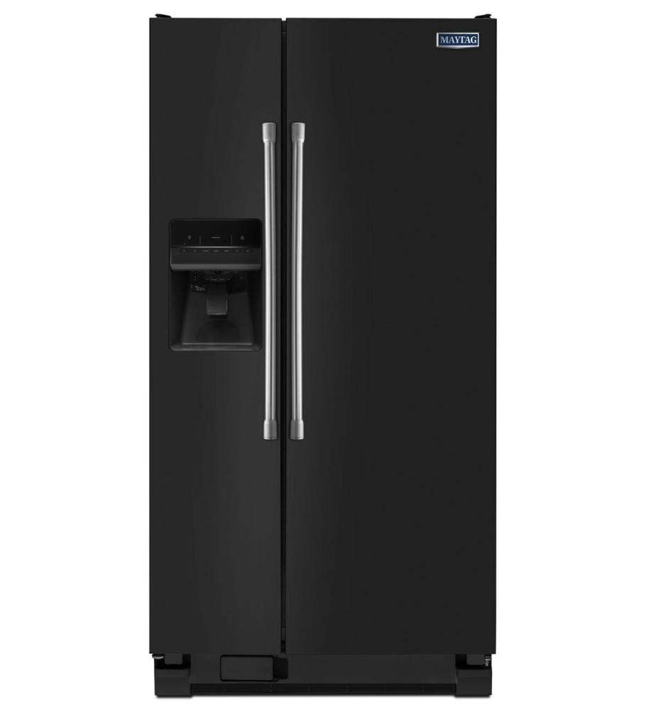 Maytag 21 Cu Ft Side By Side Refrigerator With 33 Quot Width