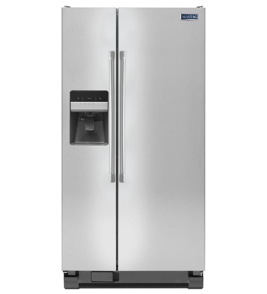 MAYTAG 21 cu. ft. Side-by-Side Refrigerator with 33