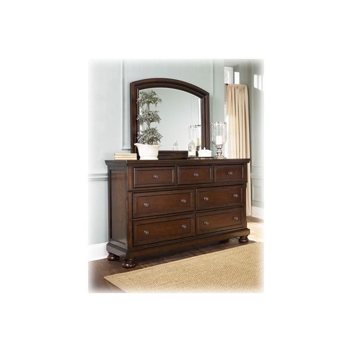 Pruitts Bedroom Furniture: Porter Dresser & Mirror