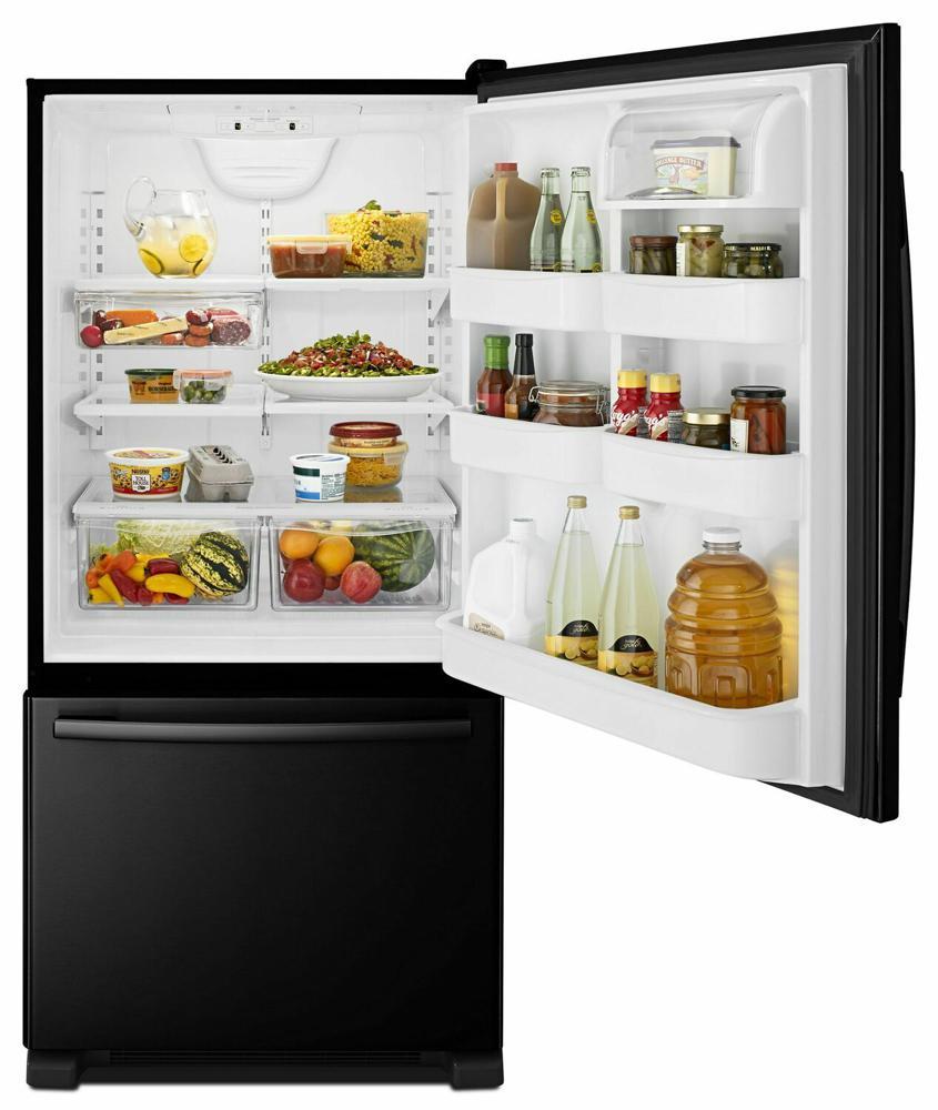 Amana 32 Inch Wide Amana R Bottom Freezer Refrigerator
