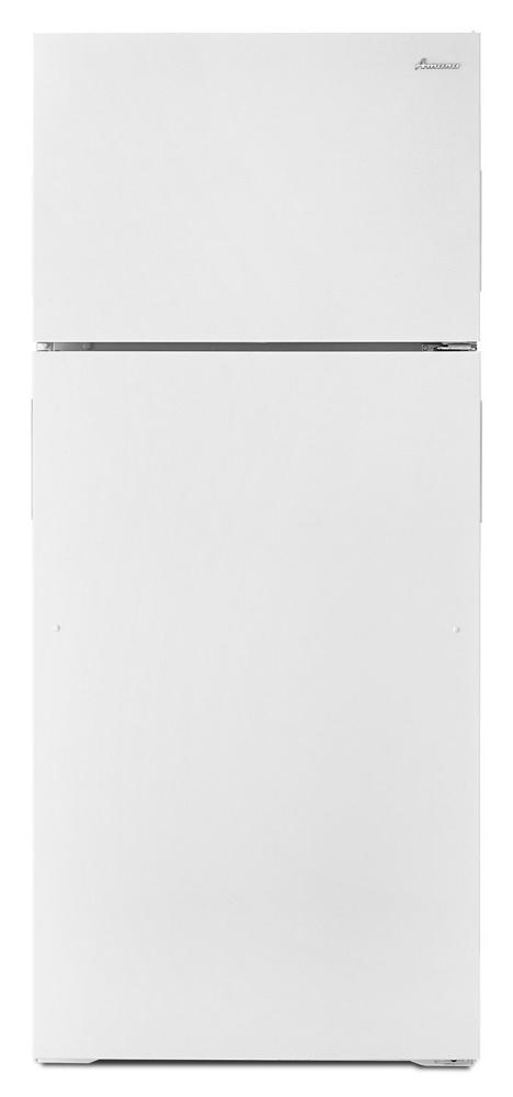 AMANA 28-inch Wide Top-Freezer Refrigerator with Full-Width Crisper Drawer - 16 cu. ft. - white