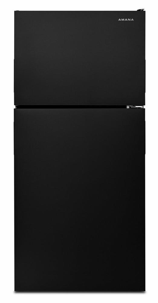 AMANA 30-inch Wide Top-Freezer Refrigerator with Garden Fresh(TM) Crisper Bins - 18 cu. ft. - black