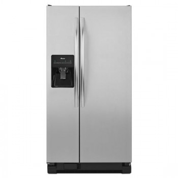 AMANA 32-inch Wide Amana(R) Side-by-Side Refrigerator with Adjustable Door Bins -- 21 cu. ft. Capacity - BS