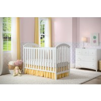 Arbour 3-in-1 Crib - White