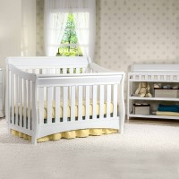 Bentley 'S' Series 4-in-1 Crib - White