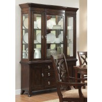 Keegan - Buffet with China Hutch Cabinet