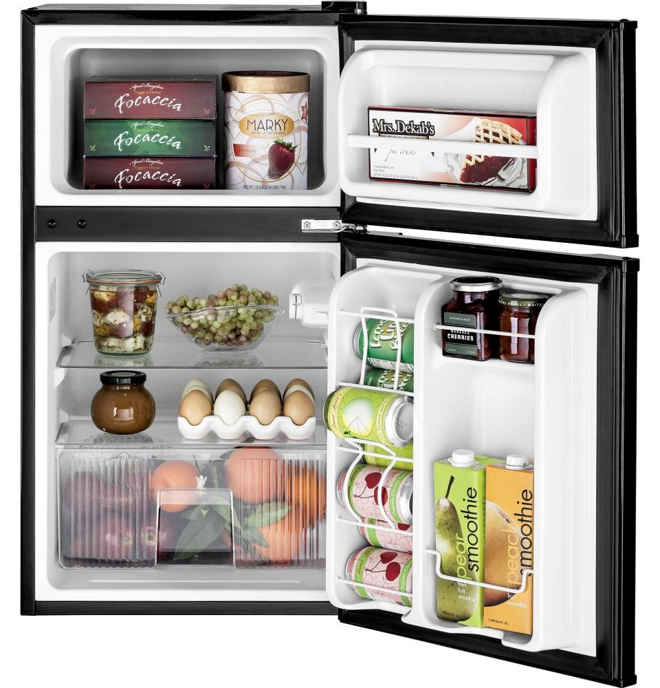 Genial GENERAL ELECTRIC GE(R) Double Door Compact Refrigerator
