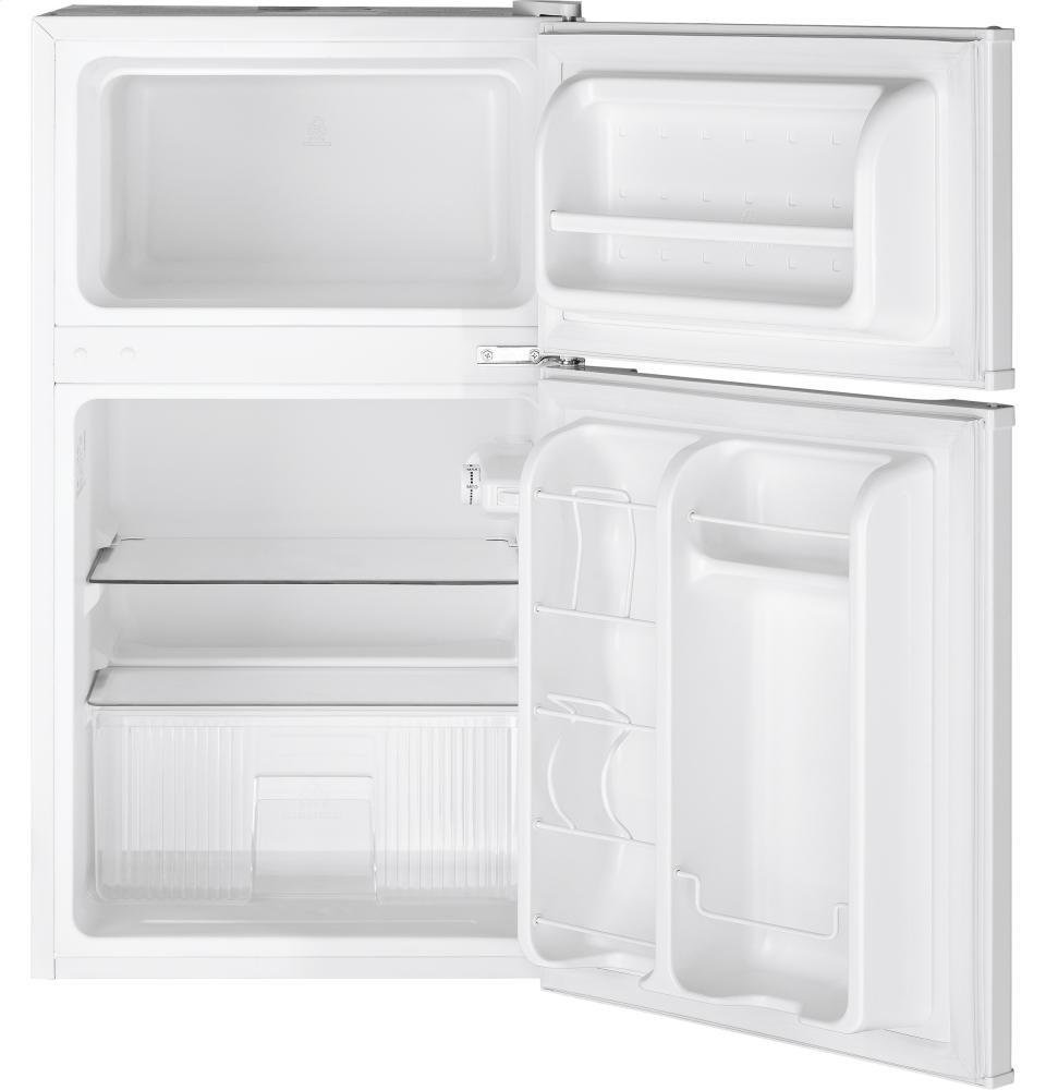 GENERAL ELECTRIC GE(R) Double Door Compact Refrigerator