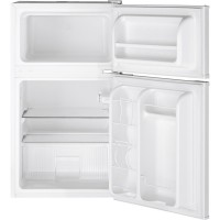 GENERAL ELECTRIC GE(R) Double-Door Compact Refrigerator