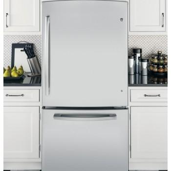 GENERAL ELECTRIC GE(R) ENERGY STAR(R) 23.2 Cu. Ft. Bottom-Freezer Drawer Refrigerator