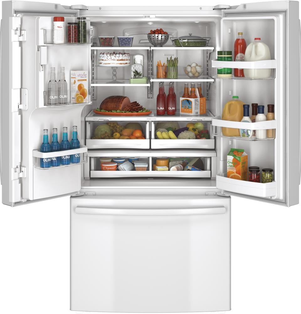 GENERAL ELECTRIC GE(R) ENERGY STAR(R) 25.7 Cu. Ft. French-Door Refrigerator