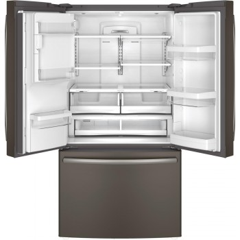 GENERAL ELECTRIC GE(R) ENERGY STAR(R) 27.7 Cu. Ft. French-Door Refrigerator