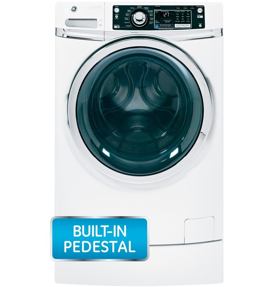 GENERAL ELECTRIC GE(R) ENERGY STAR(R) 4.5 DOE cu. ft. capacity RightHeight Design Front Load washer