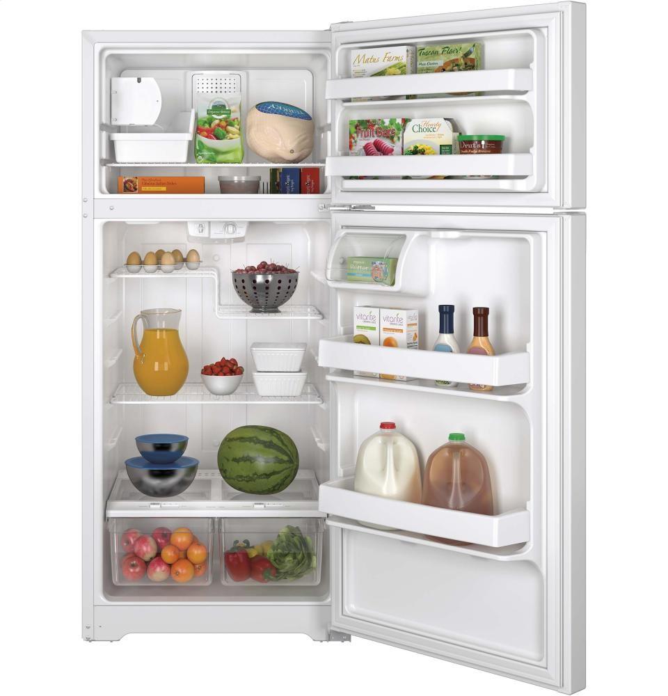 GENERAL ELECTRIC GE(R) ENERGY STAR(R) 15.5 Cu. Ft. Top-Freezer Refrigerator