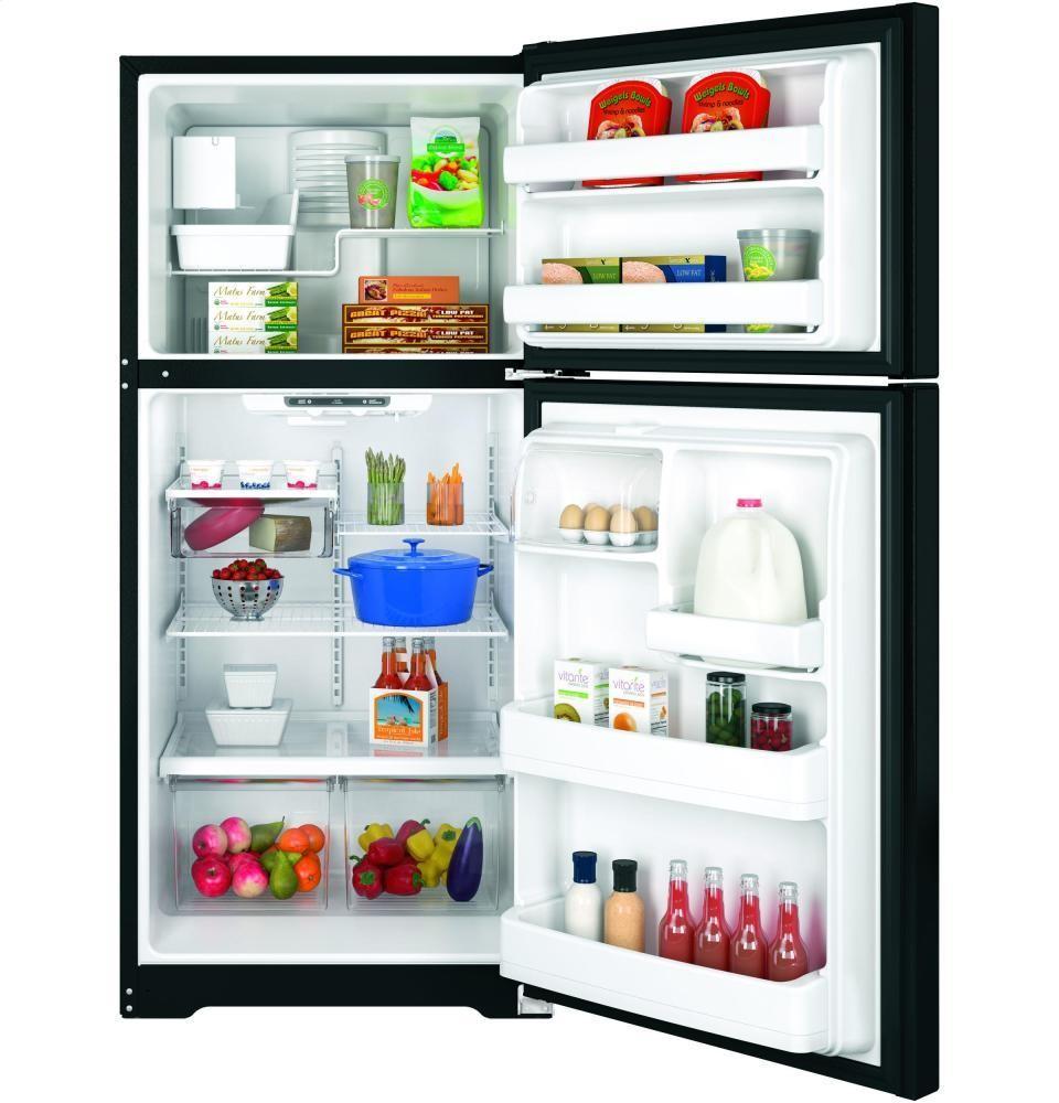 GENERAL ELECTRIC GE(R) ENERGY STAR(R) 18.2 Cu. Ft. Top-Freezer Refrigerator