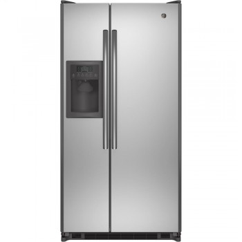 GENERAL ELECTRIC GE(R) ENERGY STAR(R) 21.8 Cu. Ft. Side-By-Side Refrigerator