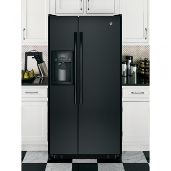 GENERAL ELECTRIC GE(R) ENERGY STAR(R) 21.8 Cu. Ft. Side-By-Side Refrigerator