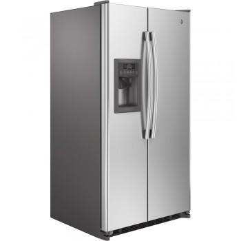 GENERAL ELECTRIC GE(R) ENERGY STAR(R) 24.7 Cu. Ft. Side-By-Side Refrigerator