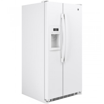GENERAL ELECTRIC GE(R) 24.7 Cu. Ft. Side-By-Side Refrigerator