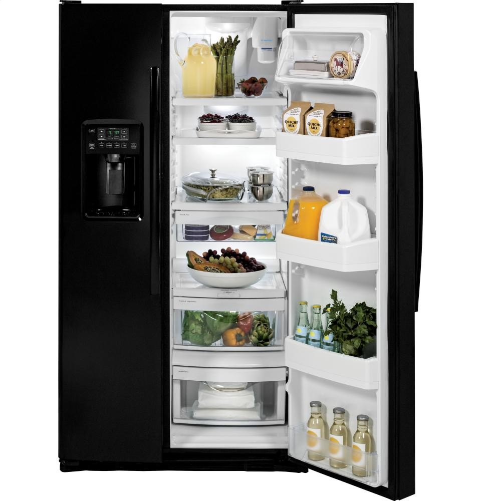 GENERAL ELECTRIC GE(R) 25.4 Cu. Ft. Side-By-Side Refrigerator
