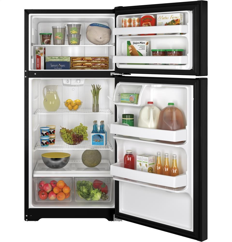 GENERAL ELECTRIC GE(R) ENERGY STAR(R) 14.6 Cu. Ft. Top-Freezer Refrigerator