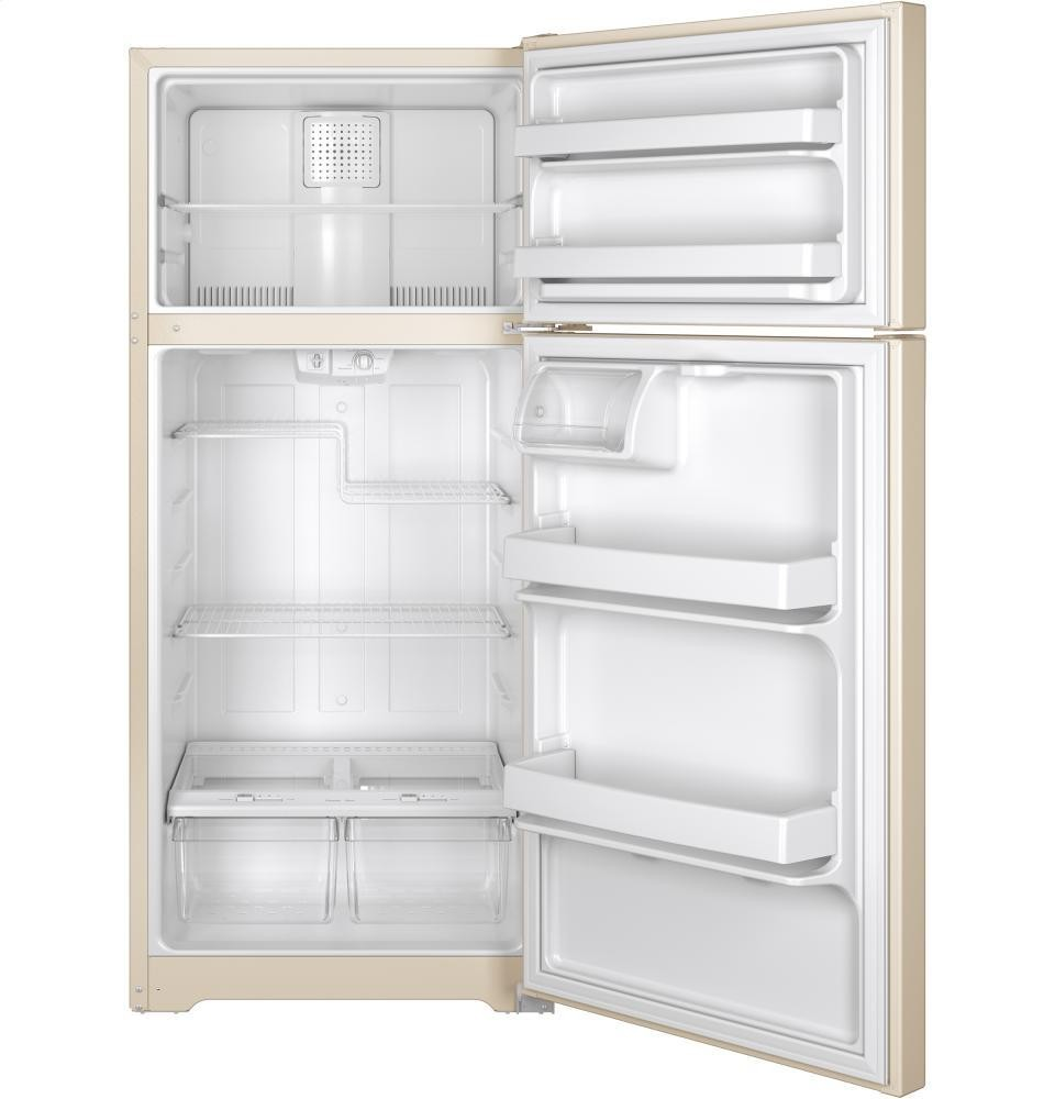 GENERAL ELECTRIC GE(R) ENERGY STAR(R) 15.5 Cu. Ft. Top-Freezer Refrigerator