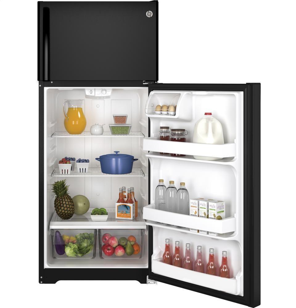 GENERAL ELECTRIC GE(R) ENERGY STAR(R) 17.5 Cu. Ft. Top-Freezer Refrigerator