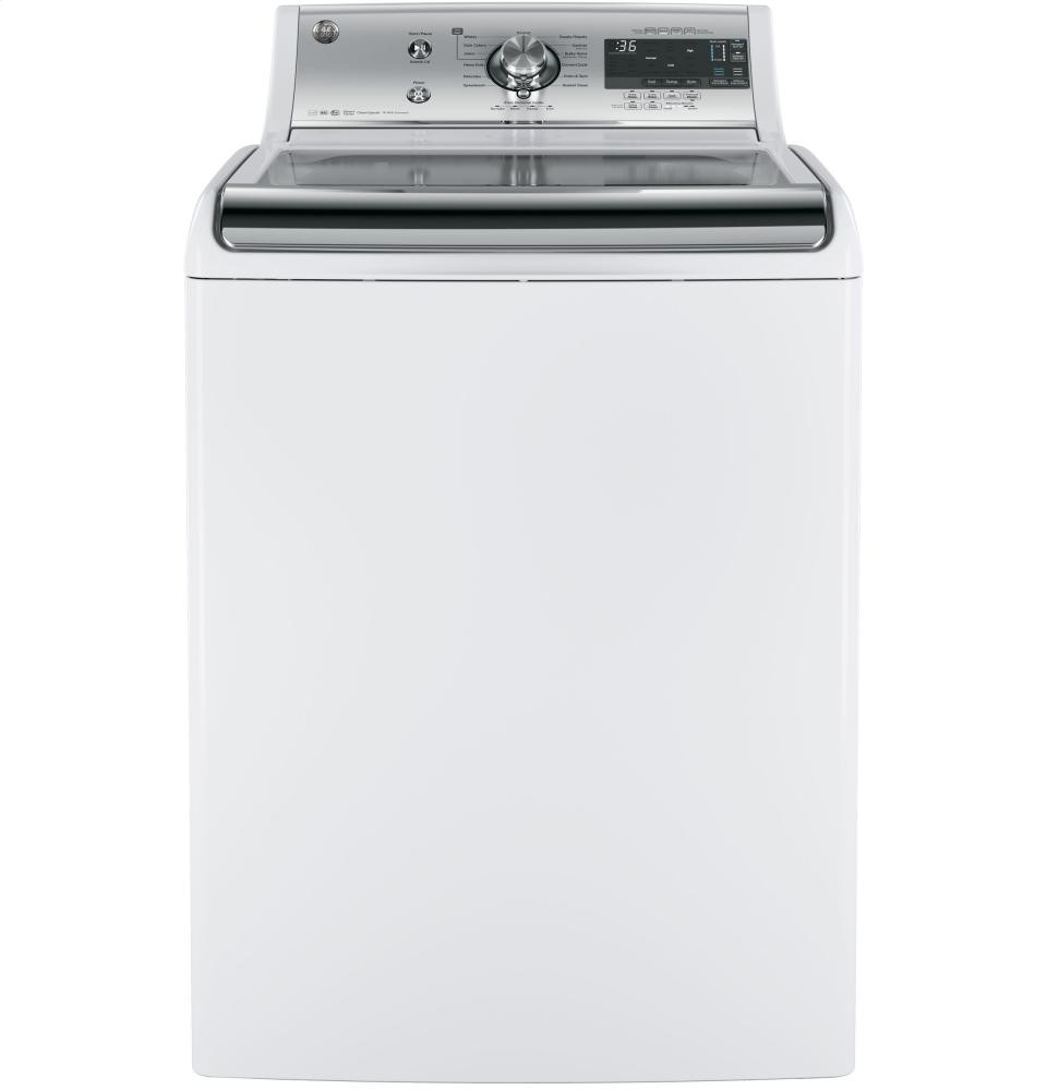 GENERAL ELECTRIC GE(R) 5.1 DOE cu. ft. capacity washer with SmartDispense Technology