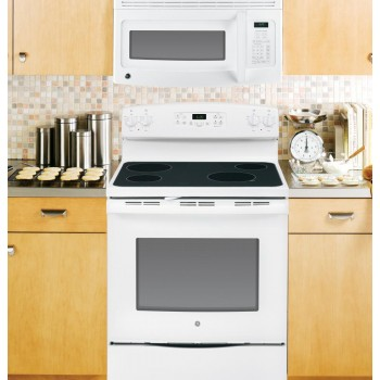 GENERAL ELECTRIC GE(R) 1.5 Cu. Ft. Over-the-Range Microwave Oven with Recirculating Venting