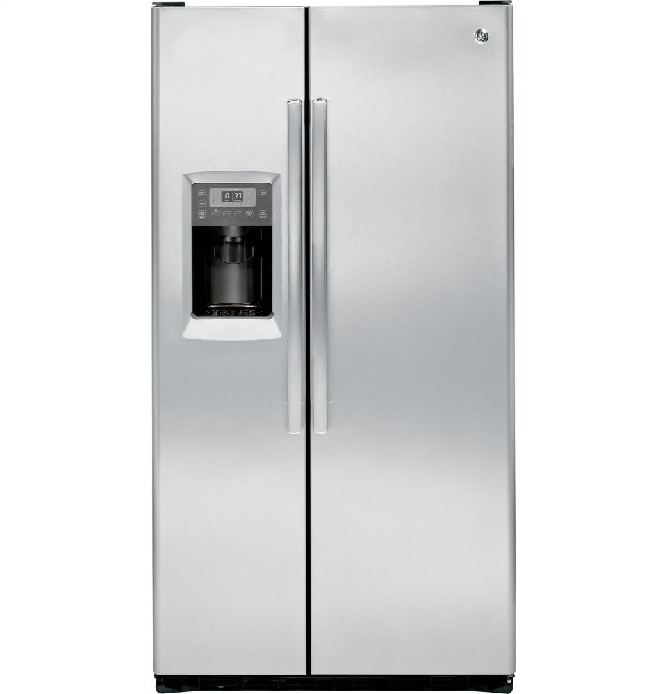 GENERAL ELECTRIC GE Profile Series 23.3 Cu. Ft. Counter-Depth Side-by-Side Refrigerator
