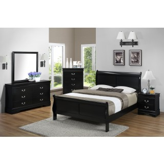 B3900 Louis Philip Bedroom Group